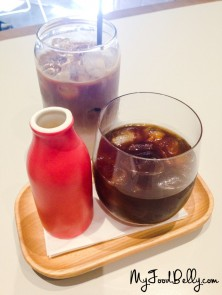 Cold Brew ($4.5) and Iced Latte ($5)