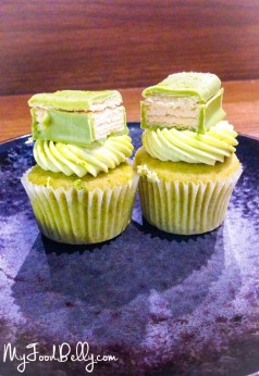 Matcha Cupcakes. Happy 2nd Birthday Operator 25!