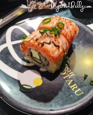 Seared Salmon Sushi