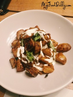 Roasted Jerusalem artichokes - Estelle Bistro