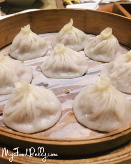 Xiao Long Bao ($8.60 for 8) - Steamed Pork Dumplings