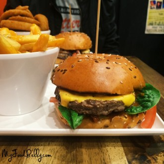 Chilli Burger ($10.90) - Chipotle-Serrano chilli sauce and aioli