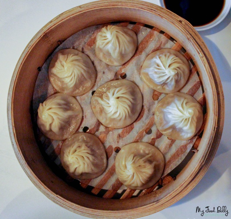 Pork xiao long bao ($10.80 for 6, $12.80 for 8)
