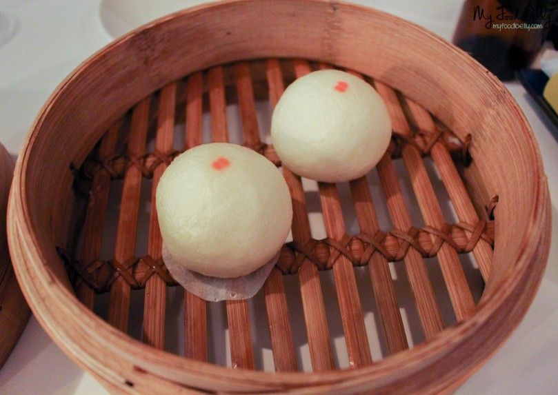 Taro steamed mini bun ($2.20 each)