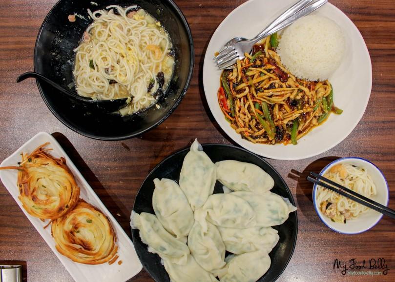 Comfort Chinese food all around